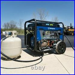 Westinghouse Outdoor Power Equipment-WGEN7500DF Westinghouse 7500-Dual Fuel P