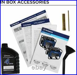 Westinghouse Outdoor Power Equipment WGen2000 Portable Generator 2000 Rated 2500