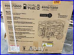 Westinghouse Outdoor Power Equipment WGen9500DF Dual Fuel Portable Generator