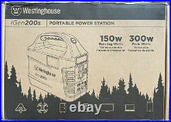 Westinghouse Outdoor Power Equipment iGen200s Portable Power Station