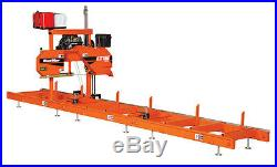 Wood-Mizer LT15 Portable Band Sawmill 19HP with Power Feed